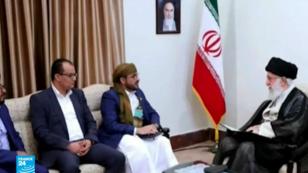 المرشد الأعلى للجمهورية الإسلامية يلتقي وفدا من الحوثيين