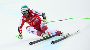 Austrian Vincent Kriechmayr won his second successive Super-G at Garmisch on Saturday