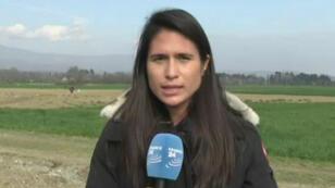 Les journalistes de France 24 sont allés à la rencontre des migrants bloqués à la frontière gréco-macédonienne.