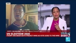 2020-11-04 14:33 US Election 2020 - tight races emerge in key battleground states