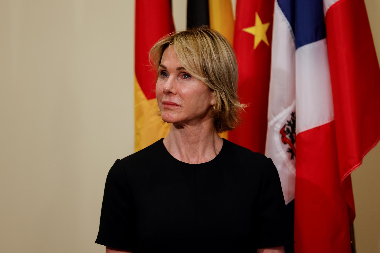 L'ambassadrice américaine à l'ONU Kelly Kraft le 20 août 2020 à New York.