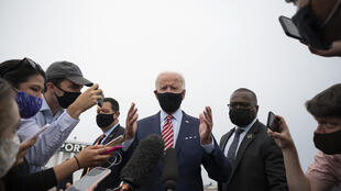 Joe Biden à Tampa en Floride le 15 septembre 2020