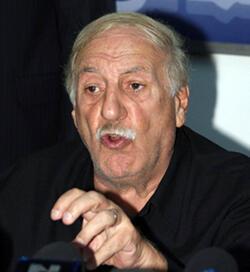 Ahmed Jibril, chef du FPLP-CG, en 2010