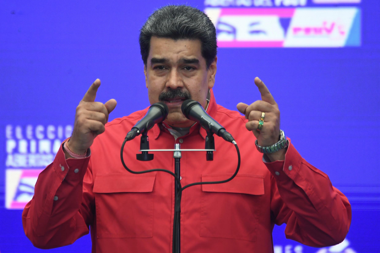 El presidente Nicolás Maduro pide el fin inmediato de todas las sanciones internacionales contra su régimen