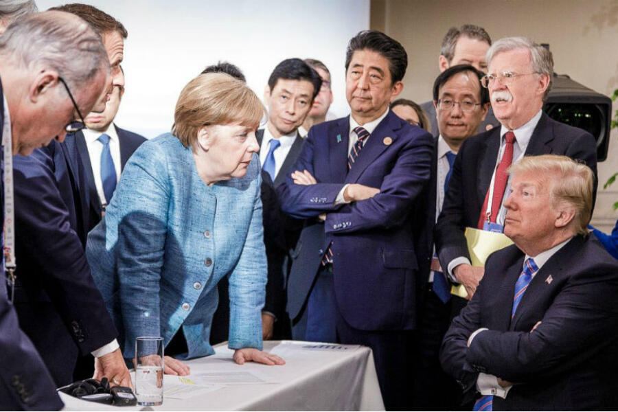 Trump's performance at the 2018 G7 Summit in Canada left an impression