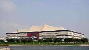 استاد البيت الذي سيستضيف المباراة الافتتاحية لنهائيات كأس العالم 2022 في قطر، في صورة مؤرخة 17 كانون الأول/ديسمبر 2019.