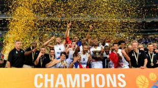 L'équipe de France de basket sacrée Championne d'Europe