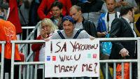 La demande en mariage du compagnon d'Isabelle Yacoubou lors des Jeux Olympiques de Londres