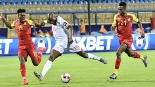 مباراة جميلة بين منتخب غانا وبنين في الإسماعيلية. 25 يونيو 2019.
