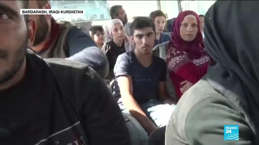 2019-10-17 15:44 Turkish offensive in Syria: Humanitarian groups struggle to provide aid to hundreds of thousands of civilians