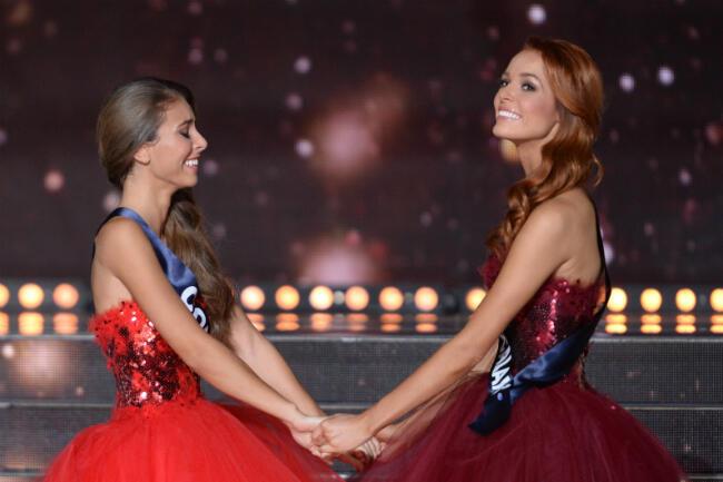 L'élection de Miss France 2018.