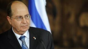وزير الدفاع الإسرائيلي المستقيل موشي يعالون
