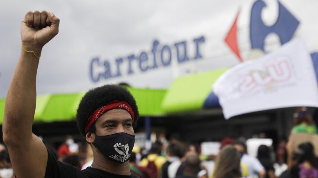 Brazil police arrest supervisor in deadly beating of Black man in Carrefour supermarket