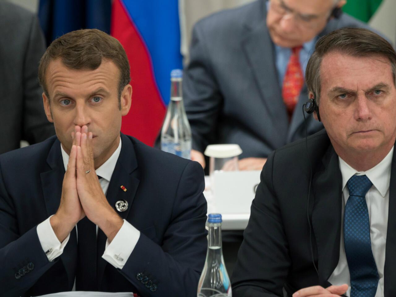 Macron Calls Out Bolsonaro S Extraordinarily Rude Insults Against Wife Brigitte