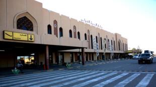L'aéroport international de Bassora, situé dans le sud-est de l'Irak.
