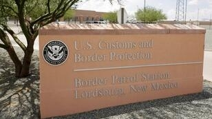 Fachada de la estación de la Patrulla Fronteriza de Aduanas y Protección Fronteriza de EE. UU.