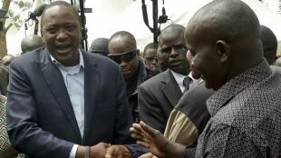 الرئيس الكيني أوهورو كينياتا
