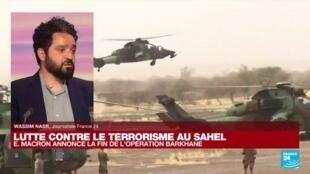 Emmanuel Macron announces the end of Operation Barkhane in the Sahel