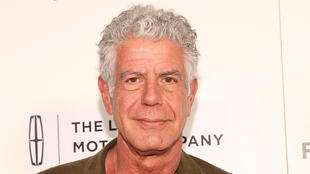 Anthony Bourdain le 22 avril 2017 à New York.