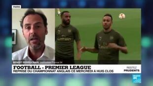 2020-06-17 15:10 Football - Premier League : le championnat anglais reprend à huis clos