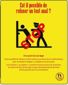 Campagne de l'ONG Shams contre le test anal