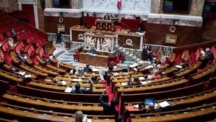 الجمعية الوطنية الفرنسية، 8 أيار/مايو 2020.