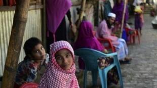 لاجئون في بنغلادش