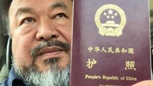 Les autorités chinoises ont fini par rendre son passeport à l'artiste Ai Weiwei.