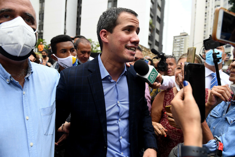 La influencia del líder de la oposición Juan Guaidó ha disminuido desde su audaz intento de obligar al presidente Nicolás Maduro a abandonar el poder en 2019.