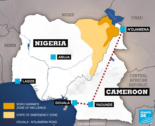 Boko Haram's Zone of Influence