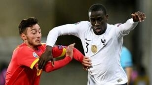 Real Madrid's latest high profile summer signing - Ferland Mendy (right)