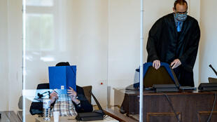 Dey is standing trial at a juvenile court because he was aged between 17 and 18 at the time he worked at Stutthof camp
