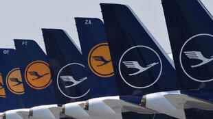 Like many other airlines, most of Lufthansa's fleet is grounded due to the coronavirus pandemic