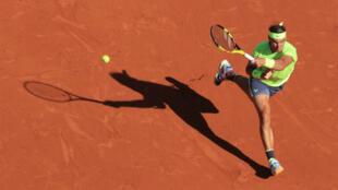 Rafael Nadal a lâché un petit set contre David Goffin.