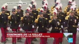 2020-07-14 11:34 14 juillet : le traditionnel défilé remplacé par une cérémonie militaire