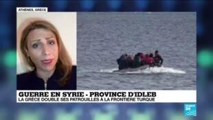 2020-02-28 13:03 Guerre en Syrie : la Grèce susceptible de faire face à des milliers de réfugiés syriens