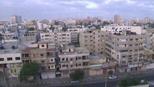 Aperçu de la bande de Gaza.