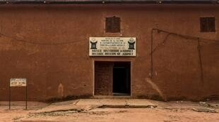 Lemusée historique d?Abomey, un ensemble de palais royaux dont une partie contient l?un des plus prestigieux musées duBénin, le 1er mai 2019 à Abomey, au Bénin