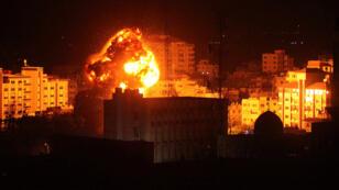 قصف إسرائيلي على غزة، 25 مارس/آذار 2019.