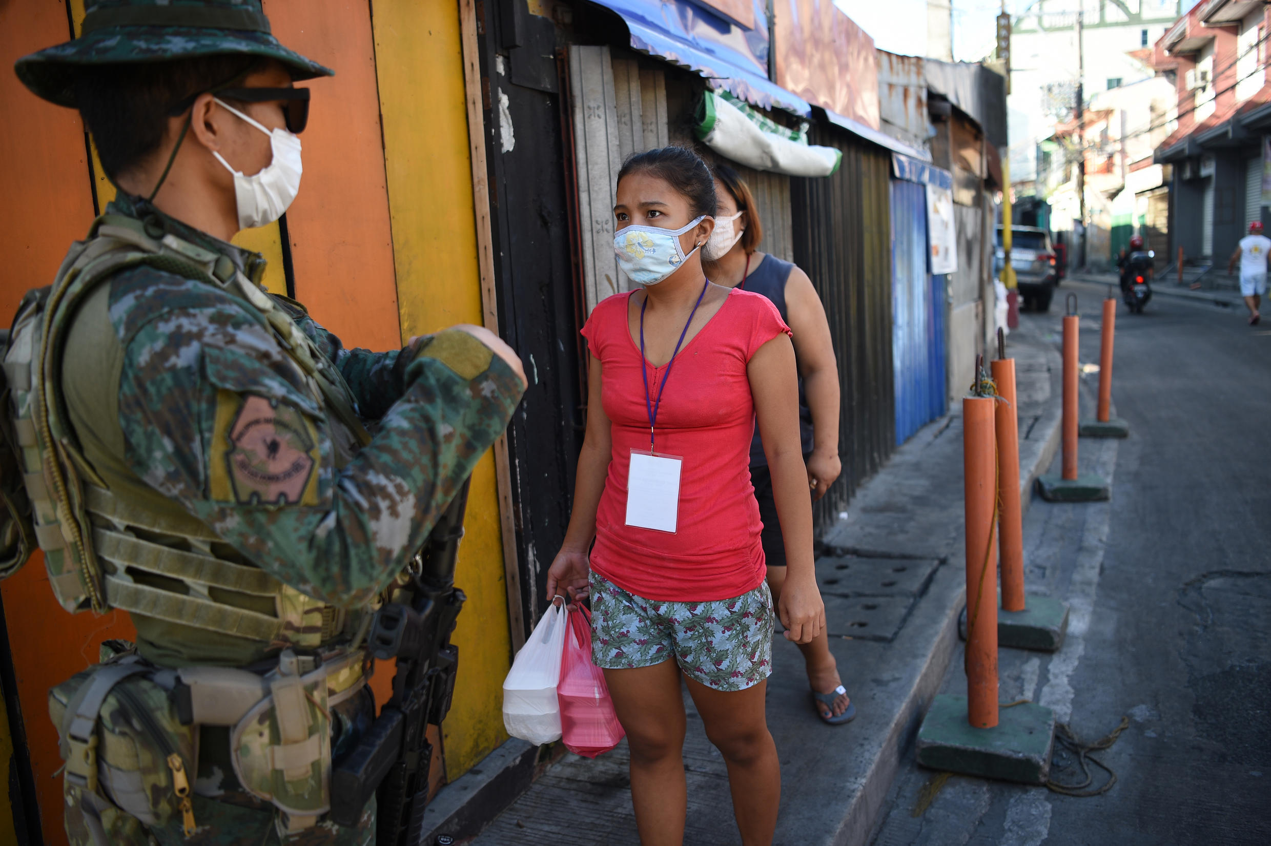 The Philippines imposed one of the harshest lockdowns in the world in mid-March, that kept people at home except to buy food and seek health treatment