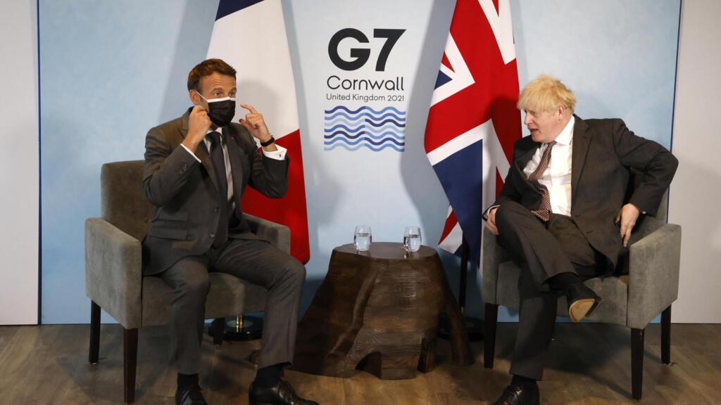 Emmanuel Macron s'exprime à la clôture du G7