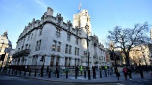 مبنى المحكمة العليا في بريطانيا