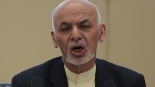 الرئيس الأفغاني أشرف غني.