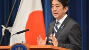 Le Premier ministre Shinzo Abe
