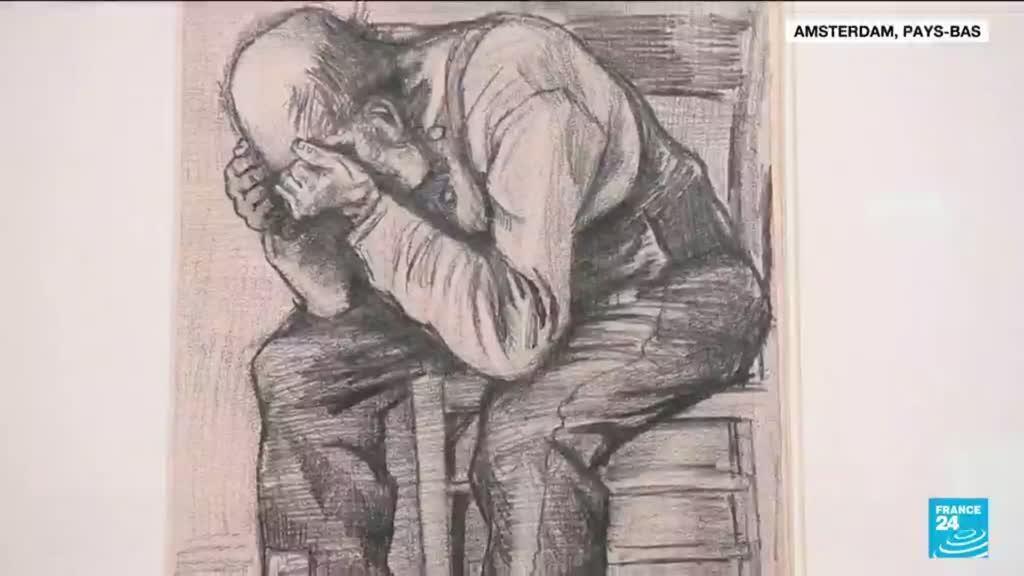 2021-09-17 17:12 Un dessin du peintre Van Gogh, ressurgi du passé, exposé pour la première fois à Amsterdam