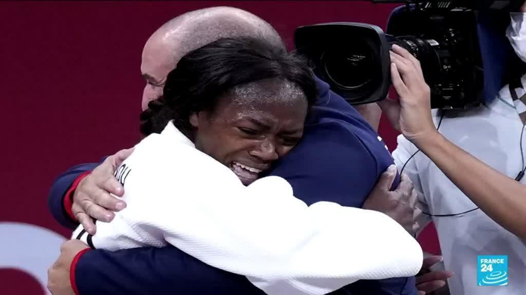 2021-07-28 12:12 Entretien avec la judokate Clarisse Agbégnénou, médaillée d'or des Jeux olympiques de Tokyo