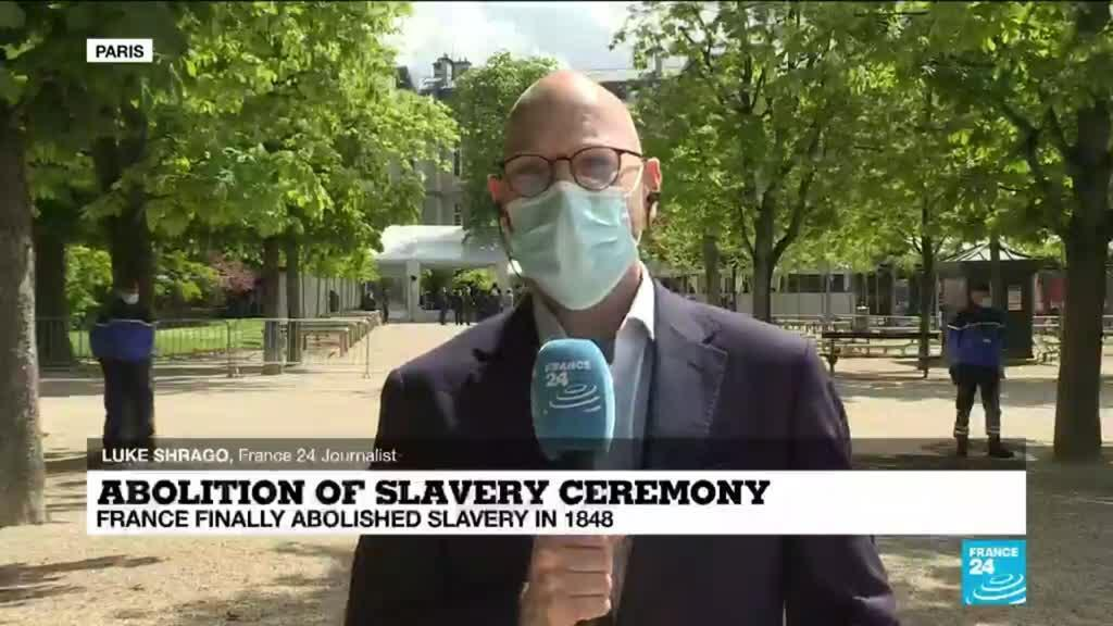 2021-05-10 15:43 France marks national day of remembrance of slave trade