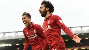 Liverpool, toujours leader de la Premier League anglaise.