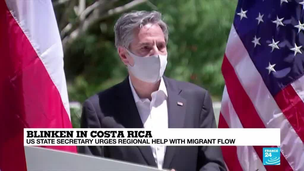 2021-06-03 08:06 US State Secretary urges regional help with migrant flow in Latin America