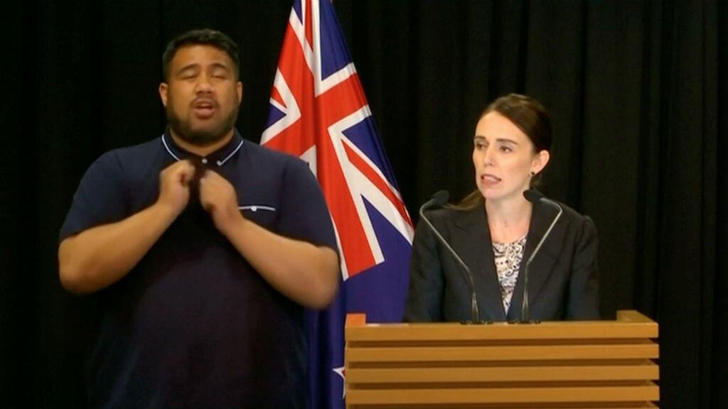 La primera ministra de Nueva Zelanda, Jacinda Ardern, habla sobre los cambios en las leyes de armas de fuego en Wellington, Nueva Zelanda, el 21 de marzo de 2019.